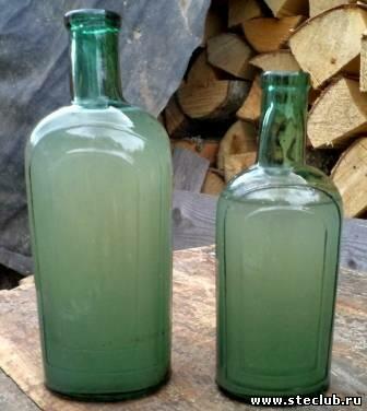 Аптечная посуда зеленого стекла - 0871670.jpg