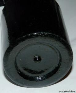 Бутылка с синего стекла с короной - 8821793.jpg