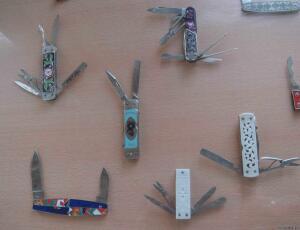 Замки и складные ножи в музее г. Павлово. - 7221933.jpg