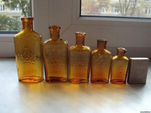 Аптечная посуда коричневого стекла - 9463622.jpg
