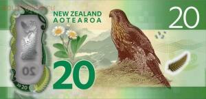 На реверсе новозеландский сокол. - новая зеландия 20 долларов..jpg