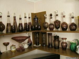 Куплю вазы, кувшины, графины марганцевого стекла - 2534630.jpg