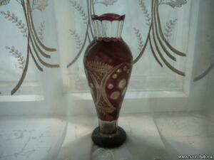 Куплю вазы, кувшины, графины марганцевого стекла - 0514519.jpg