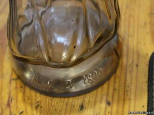 Фигурные бутылки до 1917 года. - 8199290.jpg