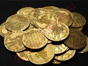 В Азербайджане археологи нашли клад. - zolklad.jpg
