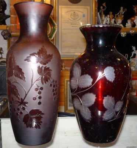 Куплю вазы, кувшины, графины марганцевого стекла - 7669089.jpg