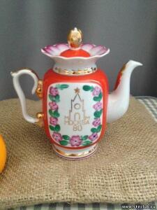 Коллекция советских и китайских фарфоровых чайников - 8789943.jpg