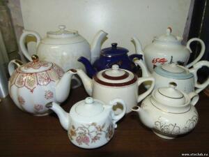 Коллекция советских и китайских фарфоровых чайников - 0539090.jpg