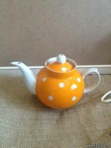 Коллекция советских и китайских фарфоровых чайников - 5420178.jpg