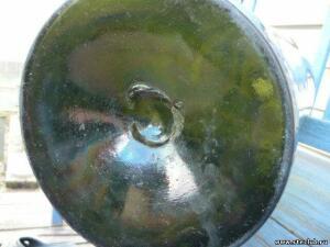 Двухведёрная бутыль зеленого стекла - 0736807.jpg