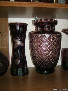 Куплю вазы, кувшины, графины марганцевого стекла - 0089288.jpg