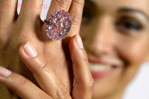 13 Самых дорогих бриллиантов - бриллиант Розовая звезда фото Pink Star Diamond.jpg