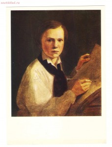 Псковская картинная галерея - 1820-1830-е, Портрет сына.jpg