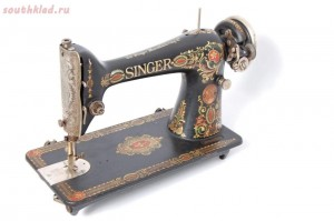 Швейные машнки Singer Зингер  - sd0062-singer-red-eye-model-66-antique-cast-iron-sewing-machine-excellent-working-1917.jpg
