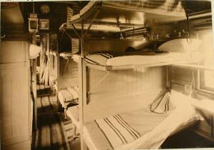 Вагон-лазарет, оборудованный на средства служащих и рабочих службы тяги Северо-Западной железной дороги 1914 год - 49097886237_eeffbf3c85_o.jpg