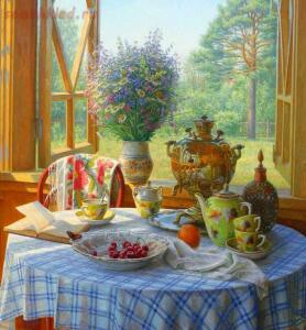 А какой же настоящий Русский чай без Самовара ? - a17e1da3e559.jpg