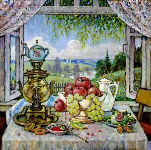 А какой же настоящий Русский чай без Самовара ? - bf95e8f7b321.jpg