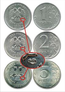 Дорогие монеты современной России о ходячке  - 2003.jpg