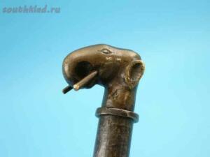 Индийский боевой топор стилет фитильный пистолет середины 18 века - 72.jpg
