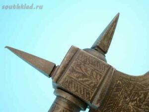Индийский боевой топор стилет фитильный пистолет середины 18 века - 34.jpg