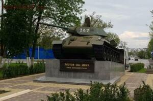 В Ростове повернули ствол танка-памятника строго на Запад - 1a5233a1cd97413b37b9269803cbd70b.jpg