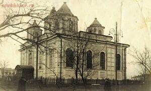 Церкви и часовни станицы Каменской - Христорождественская церковь с восстановленными во время оккупации гитлеровцев, но значительно упрощёнными по форме куполами (2).jpg