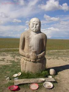 Казаки - Кто они ? - Древняя тюркская скульптура в Республике Тыва..jpg