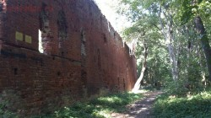 Южная часть комвента,справа крепостной ров. - DSC_0300.JPG