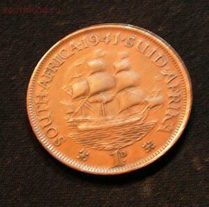 ЮАР 1 пенни 1941г до 22.03 - PICT1526.JPG