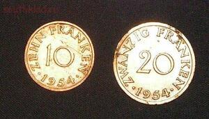 Саарленд 10 и 20 франков 1954г до 23.03 в 22МСК - с 2.jpg