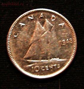 Канада 10 сентов 1943г серебро СОХРАН 23.03 в 22 00 МСК - PICT1510.JPG