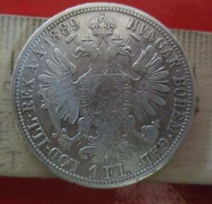 1 флорин 1889 г.окончание 19 марта - IMG_3917.JPG