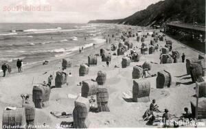 Пляж в Раушене,довоенное фото. - 1337084573.jpg