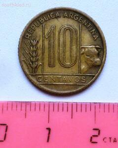 Аргентина. 10 сентаво 1943 года. До 15.08.16г. в 21.00 МСК - P1330172.JPG