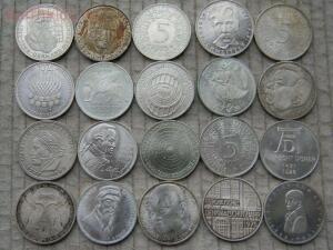 Серебро: 5 марок ФРГ. 20 монет без повторов. - 2016-11-04 10-33-44.JPG