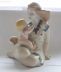 Фарфоровая статуэтка Мать и Дитя  - SAM_0281.JPG