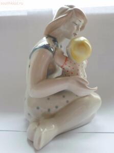 Фарфоровая статуэтка Мать и Дитя  - SAM_0282.JPG