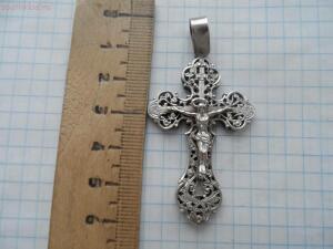 Крестик серебряный - SAM_5414.JPG