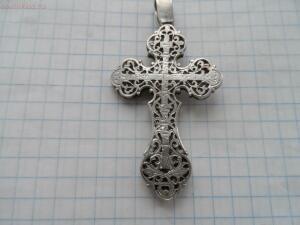 Крестик серебряный - SAM_5415.JPG