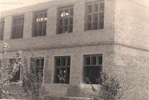 Старые фотографии поселок Глубокий - Строящееся крыло школы № 1.jpg