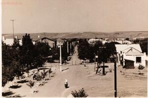 Старые фотографии поселок Глубокий - Поселок Глубокий, вид переулка Чкалова с пешеходного моста через ж.д.jpg
