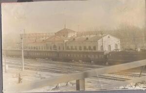 Старые фотографии поселок Глубокий - Станция Глубокая, здание вокзала.jpg