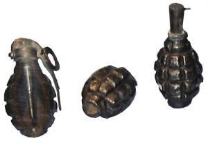 Небольшой обзор ручных гранат Второй мировой - defensive-fragmentation-grenade-16-type-wwi.png