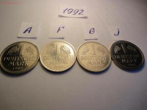 Погодовка ФРГ, 1 марка 1950-1994 гг. Разные дворы - 1992 р.JPG