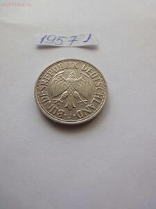 Погодовка ФРГ, 1 марка 1950-1994 гг. Разные дворы - 1957 а.JPG