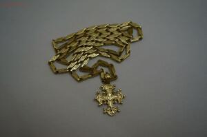 [Продам] Цепь золотая с крестом 55,23 гр. 750 пробы продам - 51065990.jpg