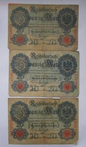 Лот банкнот Германии империя и веймар 7 шт ,до 2.04.2017г в 22.00 мск - 5.JPG