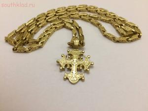 [Продам] Цепь золотая с крестом 55,23 гр. 750 пробы продам - IMG-20170411-WA0015.jpg