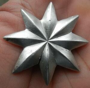 восьми конечная звезда, серебро - DSCN8497.JPG