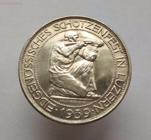 Швейцария 5 франков 1939 год Стрелковый фестиваль в Люцерне - IMG_20171020_122712.jpg